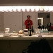 Every dressing room has at least one  mirror.  Welcome to the final minutes before taking the stage; on tour with Béla Fleck and the Flecktones, Nov/Dec 2009.