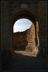 Carrer de la roca (peruxu) Tags: geotagged girona enero catalunya peruxu cataluña gerona 2010 peratallada geo:lat=4197905 geo:lon=3089604