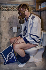 My Team Stinks Like... (cup4tml) Tags: toronto maple mask toilet gas leafs stinks cup4tml