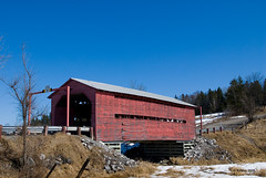 The coveted covered bridge