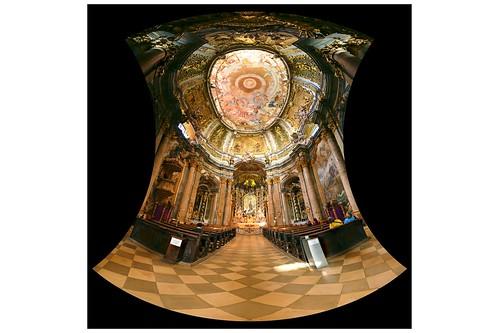 13.06.30 Kloster Weltenburg - Klosterkirche St. Georg, Brüder Asam