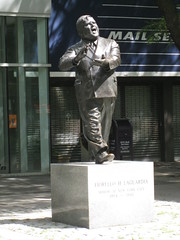 Fiorello LaGuardia statue by Salim Virji, on Flickr