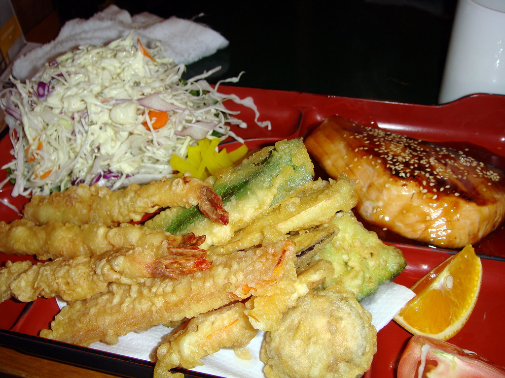 Tempura and Teriyaki