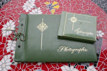 Vintage Photograph & Autograph Album