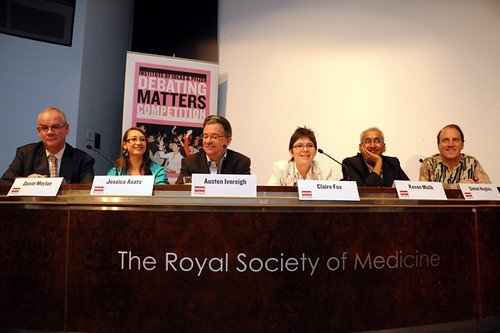 Simon on an Institute of Ideas panel debate at the Royal College of Medicine