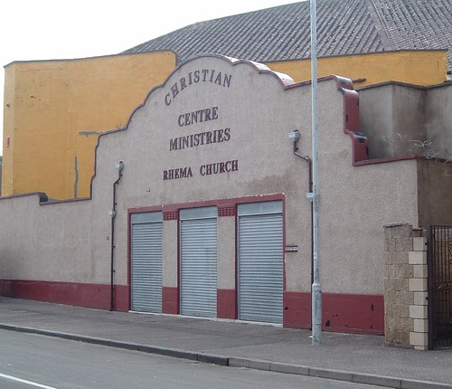 Former Raith Cinema from right