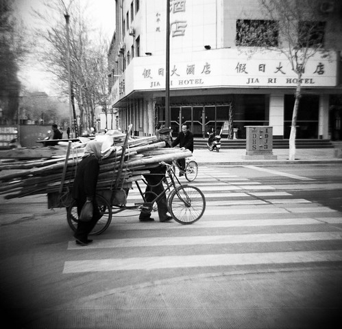 Xinjiang China with a Diana camera