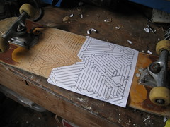 'Decked' Tests (Thomas Forsyth) Tags: wood geometric illustration design experiments graphic skateboarding thomas experiment carving deck skate skateboard owen product woodcarving decked forsyth gildersleeve thomasforsyth owengildersleeve