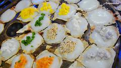 Multi-Flavour Kanom - Krog ( Thai Sweet Meal ) / ขนมครกหลากรสชาติ