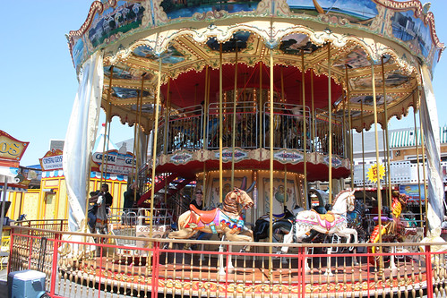 Merry go round at Pier 39