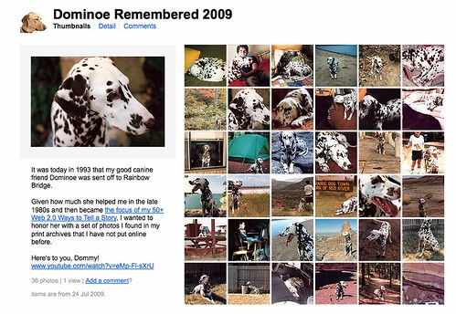 2009/365/2005 Remembering Dominoe