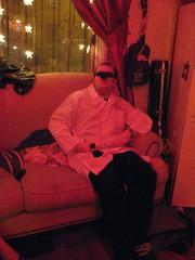 Mark with Hachette (Colleen AF Venable) Tags: costumes halloween brooklyn costume mark doctor williamsburg costumeparty halloweeninjuly nickandrachelssummer09party