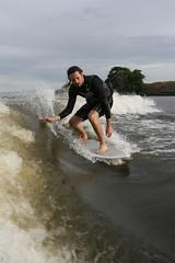 Ean (bleu988) Tags: california wake dude gliding ripping stoked wakesurfing boatsurfing wavesurfing eternalwave deltasurfing