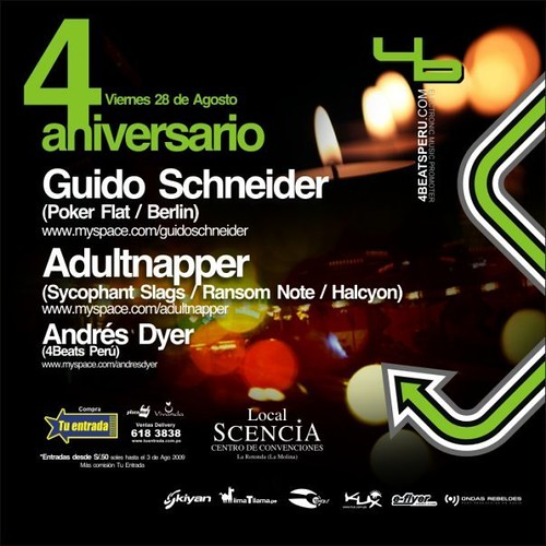 4to Aniversario 4beats