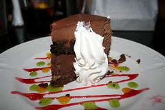 Rich and creamy (Kirsten Marie Hutton) Tags: california cake dessert chocolate disneyland anaheim bluebayou edibles disneyeats