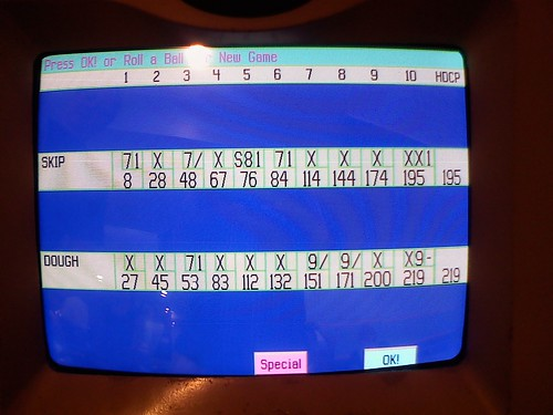 Bowling- high score!