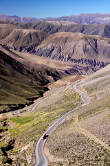 Ruta Nacional 52 - Cuesta de Lipn (Jujuy, Argentina). (thejourney1972 (South America addicted)) Tags: road mountains argentina ruta de los highway carretera corridor route estrada andes nacional corredor montanhas 52 noa montaas jujuy va cuesta argentino rodovia noroeste lipn biocenico bioceanic