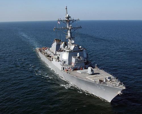 フリー画像| 船舶/ボート| 軍用船| DDG-68 ザ・サリヴァンズ| USS The Sullivans| ミサイル駆逐艦|      フリー素材|