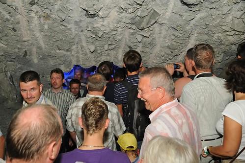 Tunneldurchschlag Jagdbergtunnel Jena