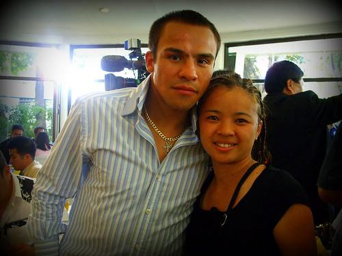 Juan Manuel Marquez visits the Philippines, 4.06.08