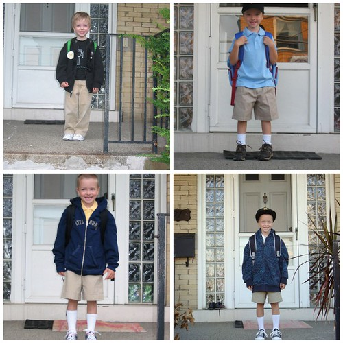 First Day of School Montage, 2009 (version 2)