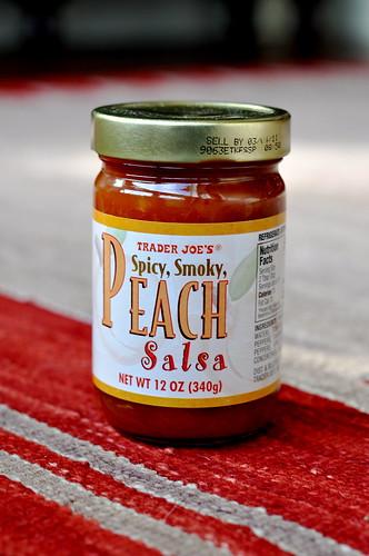 Smoky Peach Salsa