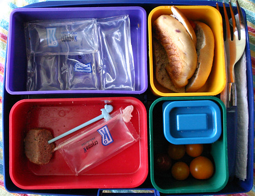 Kindergarten Bento #231: What came home