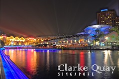 Clarke Quay in Colors