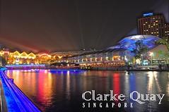 Singapore Christmas 2009 at Clarke Quay: 11-25 Dec