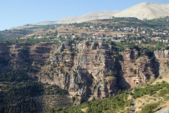 Saint Alichaa Monastery (Hani London) Tags: lebanon mountain tree landscape nikon religion monastery valley cedar elisha 5photosaday d80 abigfave platinumphoto theunforgettablepictures qannoubine kannoubine quannoubine dermralcha lichaa