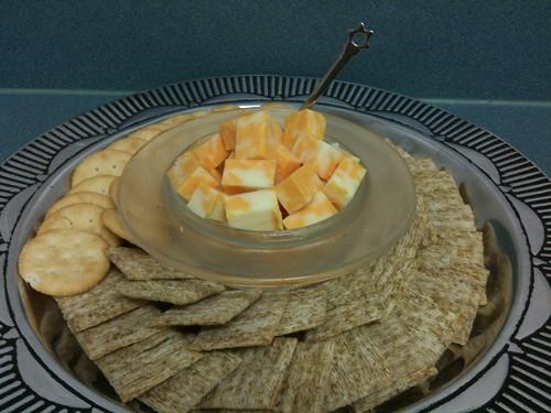 Cracker Platter on a Budget