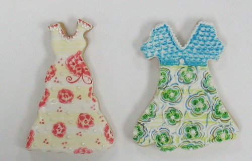 [Image from Flickr]:Party Dress Cookies
