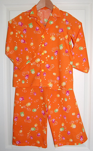 Japanese Goldfish Pyjamas For Sid