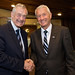 Terry Davis, former Secretary General of the Council of Europe and Thorbjørn Jagland new elected Secretary General of the Council of Europe