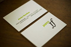 the jasfitz cards are here (jasfitz) Tags: graphicdesign businesscards letterpress