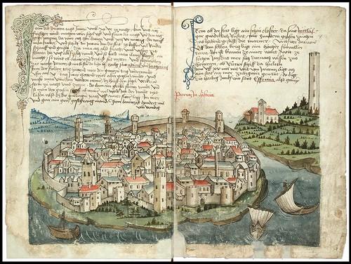 Konrad von Grünenberg - Beschreibung der Reise von Konstanz nach Jerusalem 1487 d