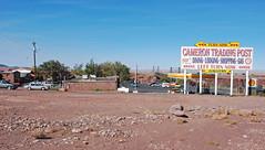 Cameron Arizona (tonopah06) Tags: bridge arizona river us colorado post suspension little az cameron trading 2009 89