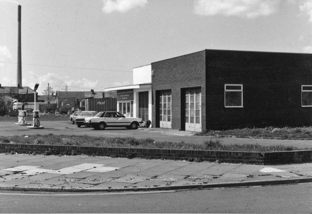Old Esso Station Widnes