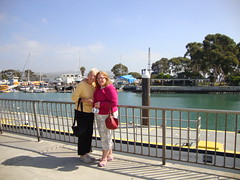 Mom and I at Dana Point Harbor