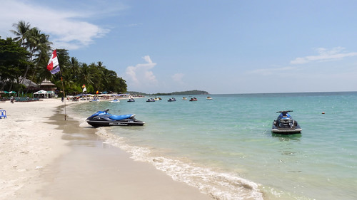 Koh Samui Chaweng Beach center-コサムイチャウエンビーチ中心部1