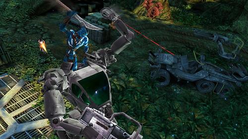 juego de Avatar robot