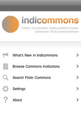 Indicommons for iPhone and iPod touch