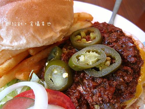 Evans Burger 墨西哥辣醬與墨西哥辣椒
