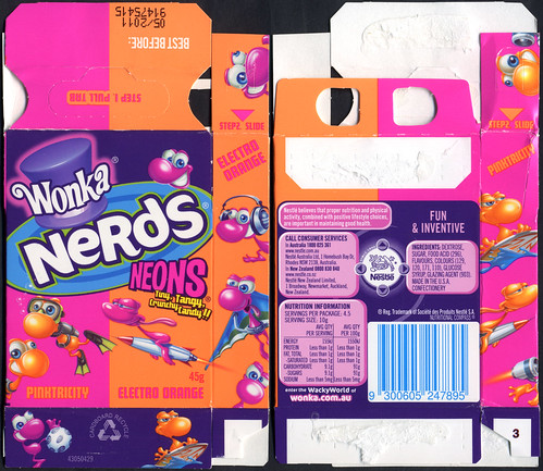 Nerds Neons are still produced for the Australian market.