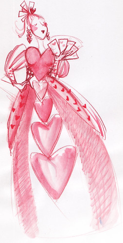 queenofhearts_watercolorsketch.a.alvarez