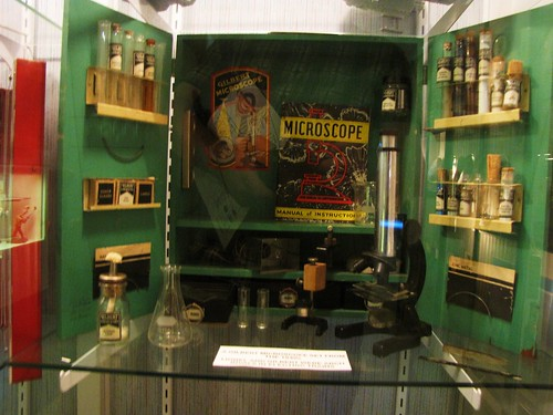 Old Microscope kit