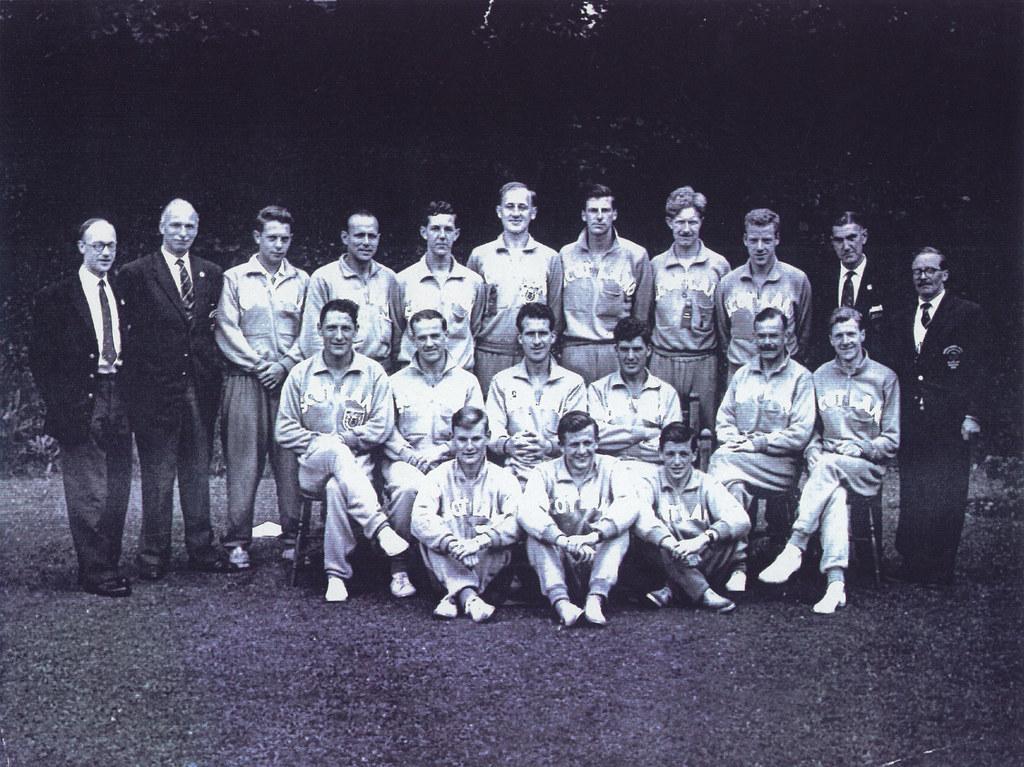 Scottish Rowing Team, 1958