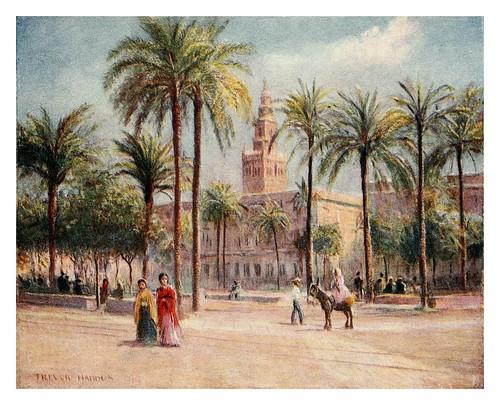 012-Sevilla Plaza de San Fernando-Southern Spain 1908- Trevor Haddon