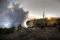 portland bill blow hole (markconnell) Tags: uk england lighthouse beach portland landscape seaside pentax dorset british connell portlandbill k100d pentaxk100d yourphototips markconnell