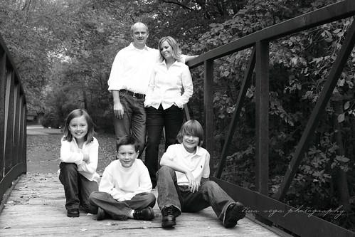 b/w family